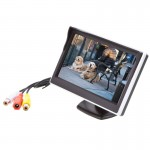 Safesight TOP-SS-5006 5 inch Widescreen LCD monitor - 2 triggered video inputs