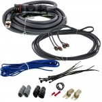 T-Spec V8-RAK4 4 Gauge V8 Series OFC Amp Kit w/2-Channel RCA Cables