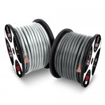 T-Spec V10GW-1020 Universal 20 Feet 0 Gauge V10 Series Power Wire in Matte Grey for Vehicles