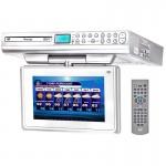 Venturer KLV39092 9 inch Under Cabinet Kitchen TV with Built-In DVD Player