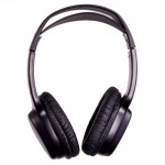Zicom by Accelevision ZHIR20 Infrared IR Wireless Stereo Headphone Single Channel Headset