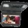 """Audiovox AVXMTG9 9"""" Overhead Flipdown DVD player in Black"""