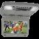 "Audiovox AVXMTG9 9"" Overhead Flipdown DVD player in grey"