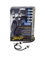 Stinger SI8217 8000-Series 17-Foot Car Stereo RCA Interconnect Cables