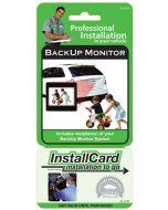 Nationwide Pre-paid Installcard 42-1109 Backup monitor InstallCard