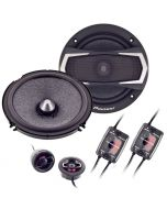 Pioneer TS-A1605C 6 1/2 Inch Car Component Speakers - Complete system