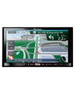 Pioneer AVIC-Z150BH 7 inch In-Dash Navigation AV Receiver with WVGA Touchscreen, Bluetooth, HD radio, SiriusXM ready, Built in traffic, and AppRadio mode