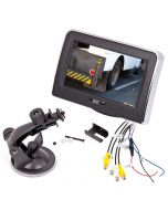 """Boyo VTM4302 4.3"""" Back up monitor with suction cup mount - Main"""