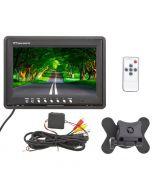 "Safesight TOP-D9001 9"" Universal Headrest LCD monitor - Item contents"