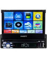 Dashyu DY7TS 7 Inch Single DIN Flip-Up Car Stereo DVD Bluetooth Receiver