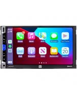 """Dual DMCPA70 10.1"""" Media Receiver with Apple CarPlay, Android Auto and Over-sized Capacitive Display - Apple Carplay"""