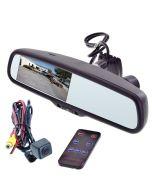 MV-RVM403DVR Rearview Mirror DVR - Camera and Remote