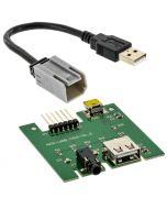 idataLink Maestro ACC-USB-RAM USB Media Hub replacement circuit board for 2013 - 2018 Dodge Ram Trucks - Main