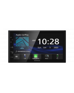 Kenwood DMX4707S 6.8 Inch Double DIN Digital Media Receiver with Apple CarPlay and Android Auto