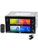 "JVC KW-V620BT ""El Kameleon"" 6.8 inch Double DIN Touchscreen DVD Receiver - Main"