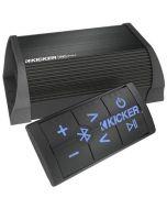 Kicker PXiBT502 Amplifier Controller - Main with blue illumination