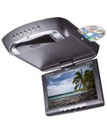 Tview T128DVFDBK 12 inch Overhead DVD player - With DVD loaded