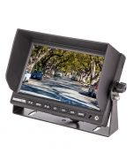 Safesight TOP-SS-D7004 7 Inch LCD Monitor - With sun shade installed