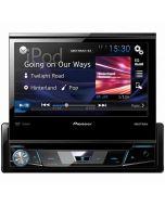 Pioneer AVH-X6800DVD Single DIN Flip-up car stereo receiver - Main
