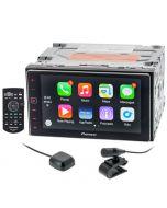 Pioneer SPH-DA120 In-Dash AM/FM, CD, MP3, USB Receiver with Remote for Car - Right Side