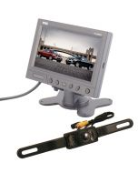 """Quality Mobile Video License Plate Back Up Camera System with 5.8"""" Monitor ZH58P3-SC0301"""