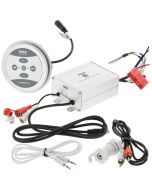 Pyle PLMRMBT5S Bluetooth Marine Amplifier with controller