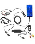 QMV USB-C Android Mirroring Adapter Bundle with Charging  - main