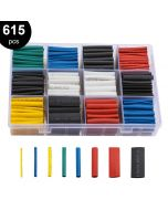 Quality Mobile Video HST615AC 615 Piece Assorted Size and Color 2:1 Heat Shrink Tubing Kit