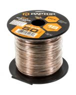 Metra Raptor RSW18-50 18-Gauge 50 Ft Clear Speaker Wire