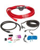 Rockford Fosgate RFK4I 4 Gauge Amplifier and Signal Wiring Installation Kit