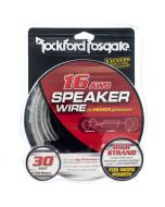 Rockford Fosgate RFWP16-30 30 Foot spool of 16-Gauge Frosted Speaker Wire