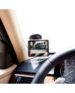 """Safesight TOP-RM355A 3.5"""" Back up monitor - Attached to windshield"""