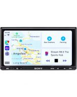 """Sony XAV-AX7000 Double DIN Digital Receiver with 6.95"""" Capacitive Touchscreen Display, Apple Carplay and Android Auto"""