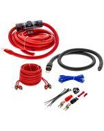 T-Spec V6-RAK1-0 1/0 Gauge V6 Series CCA Amp Kit w/2-Channel RCA Cables