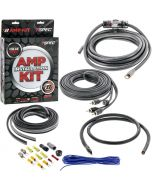 T-Spec V8-4RAK Universal RCA Cable 4 Gauge V8 Series Amplifier Installation Kit - Main