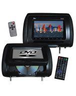 Tview T737DVPLBK Headrest DVD Players - Main