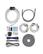 T-Spec V10-4DAK Universal RCA Cable 4 Gauge V10 Series Dual Amplifier Installation Kit