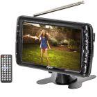 """Axess TV1703-7 7"""" Rechargeable Portable TV - Main"""