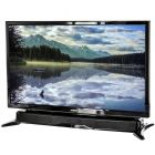 "Axess TVD1804-24 24"" HD LED TV with AC/DC power adapter and built in DVD - Main"