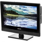"""Axess TVD1805-15 15"""" HD LED TV with AC/DC power adapter and built in DVD"""