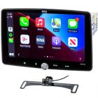 """Boss Audio BCPA10RC Digital Media Receiver with 10"""" Floating Capacitive Touchscreen, Apple Carplay and Android Auto with Backup Camera - main"""