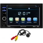 Boss Audio BVB9364RC Double DIN 6.2 inch In-Dash DVD/CD/SD/AM/FM Bluetooth Receiver with Backup Camera