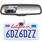 "Boyo Vision VTC1743M 4.3"" Rearview Mirror Monitor License Plate Backup Camera System"