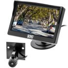"Boyo VTC500DIY 5"" Rear View Monitor & Compact Bracket Mount Behind License Plate Camera (DIY-Do It Yourself)"