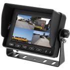 Boyo VTM5OOOQ4 5 Inch LCD Quad Screen Monitor with removable sun shade and triggered inputs - Main