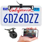 Boyo VTX400W WiFi Smartphone Backup Camera with Surface or License plate mount - Main