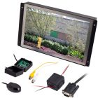 Clarus RP-92 9.2 inch panel mount LCD monitor with flush mount flanges - Main