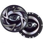 "Dual DS653 Coaxial Car Speakers 150 Watt 3-Way 6.5"""