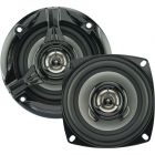 """Power Acoustik KP-42N KP Series 4 Inch 2-Way Speakers - 160-Watts and 10 ounce Magnet With .75"""" Voice Coil"""