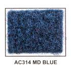 "Metra AC314-5 40"" Wide x 5 Yard Long Acoustic Carpet - Medium Blue"